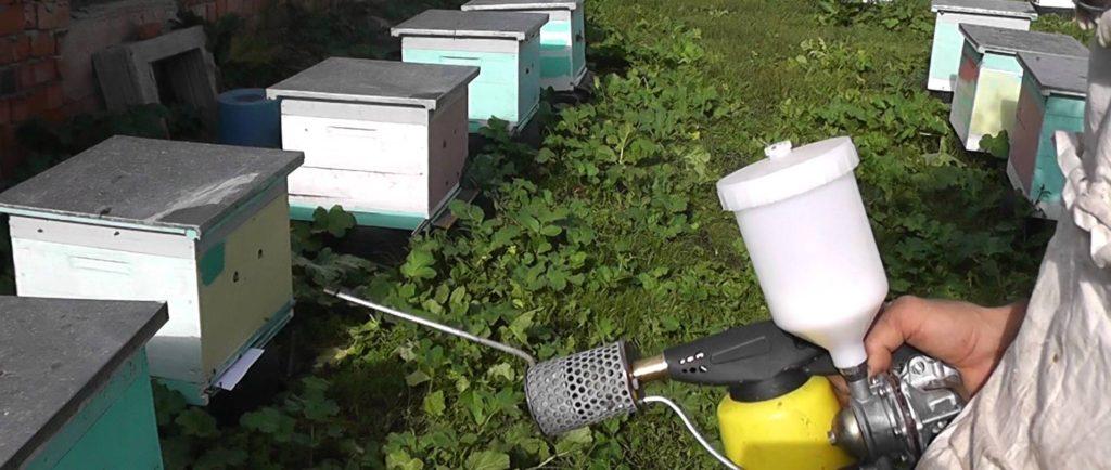Для чего пчеловодам нужна дым пушка