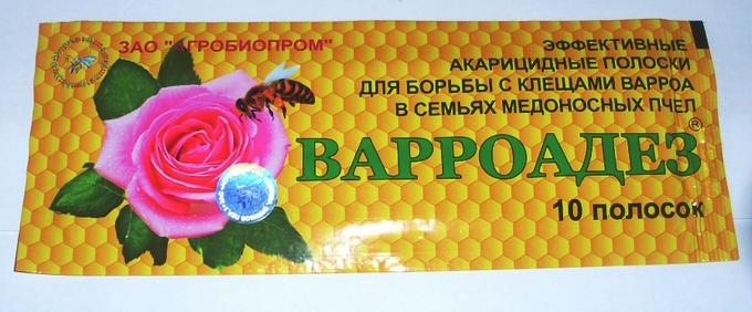 Варроадез — препарат против клещей