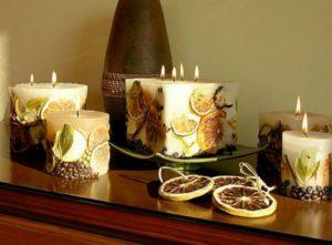 Как самому изготовить свечи