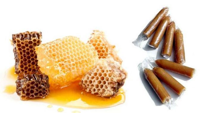 Тампоны с мёдом